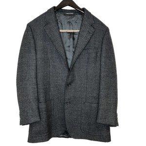 Zanella Mens tweed blazer suit sports jacket wool